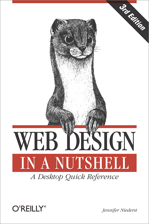 Cover for Web Design in a Nutshell, by Jennifer Robbins