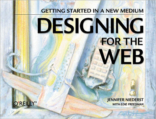 Cover for Designing for the Web, by Jennifer Robbins
