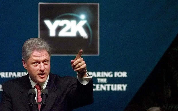 President Bill Clinton addressing Y2K in his State of the Union address