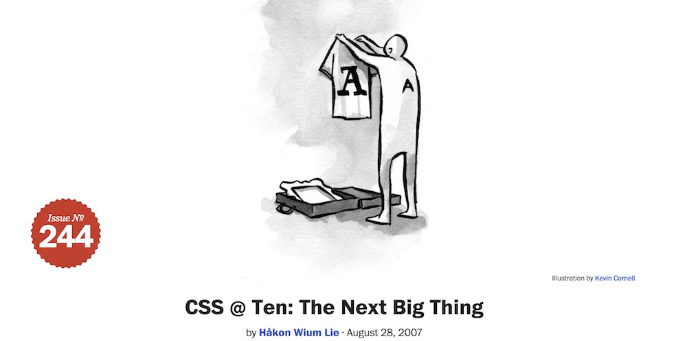 Image for a list apart article about CSS fonts