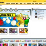Neopets homepage screenshot circa 2016