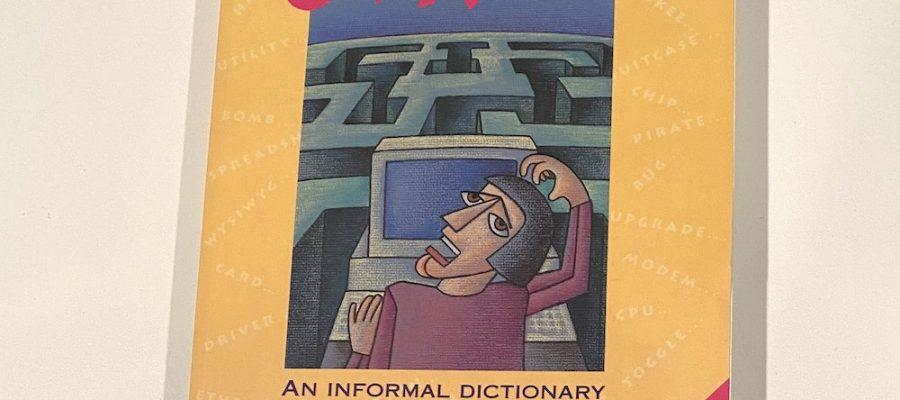 My copy of Jargon on my desk