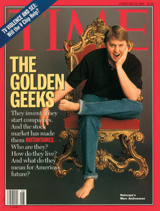 Time cover featuring Marc Andresseen