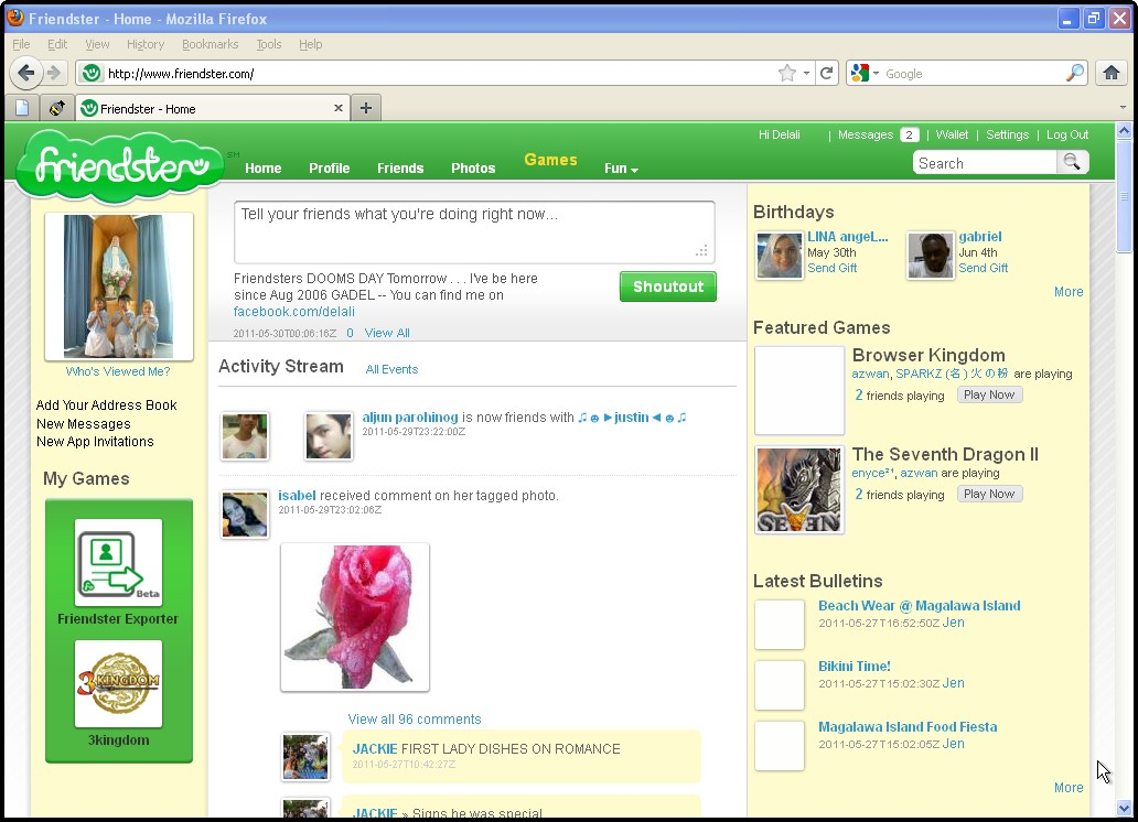 friendster-image - The History of the Web