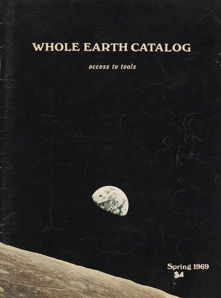 "Cover of the original ""Whole Earth Catalog"""