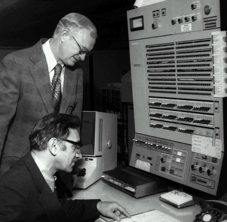 An IBM Mainframe at Stanford University in the late '60's
